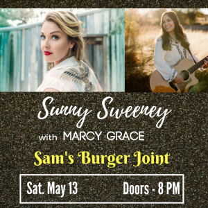 Sunny Sweeney with Marcy Grace