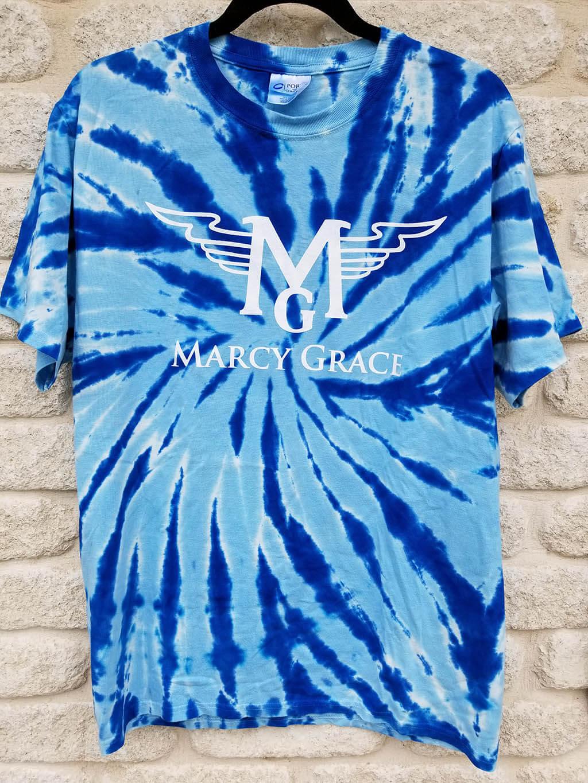 Blue Tie-Dye T-Shirt