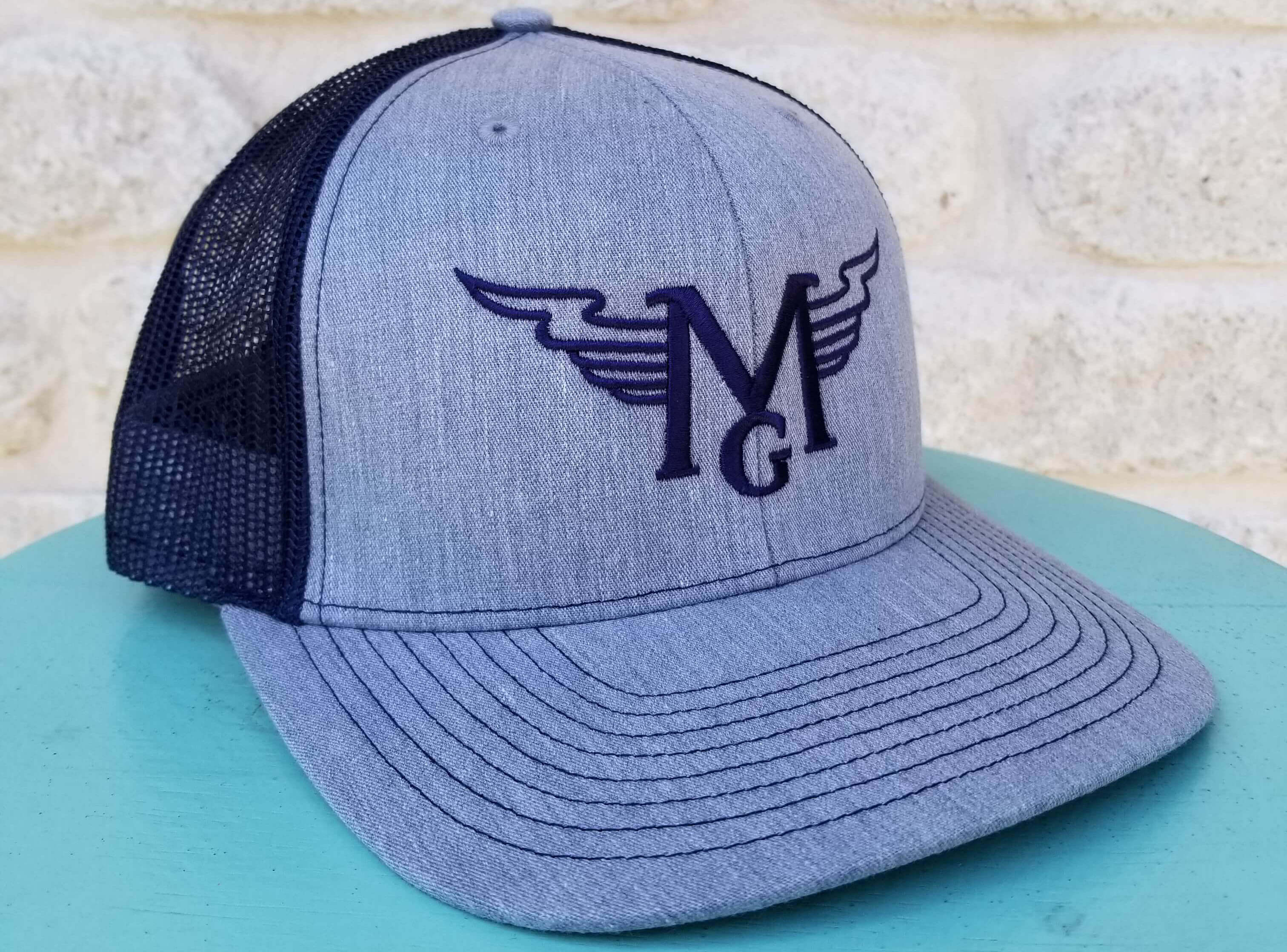Grey-Navy Trucker