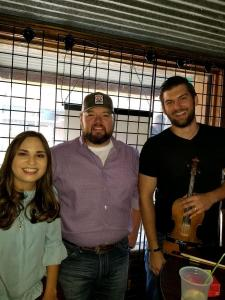 Marcy Grace with Cody Wayne and Vic Andrews
